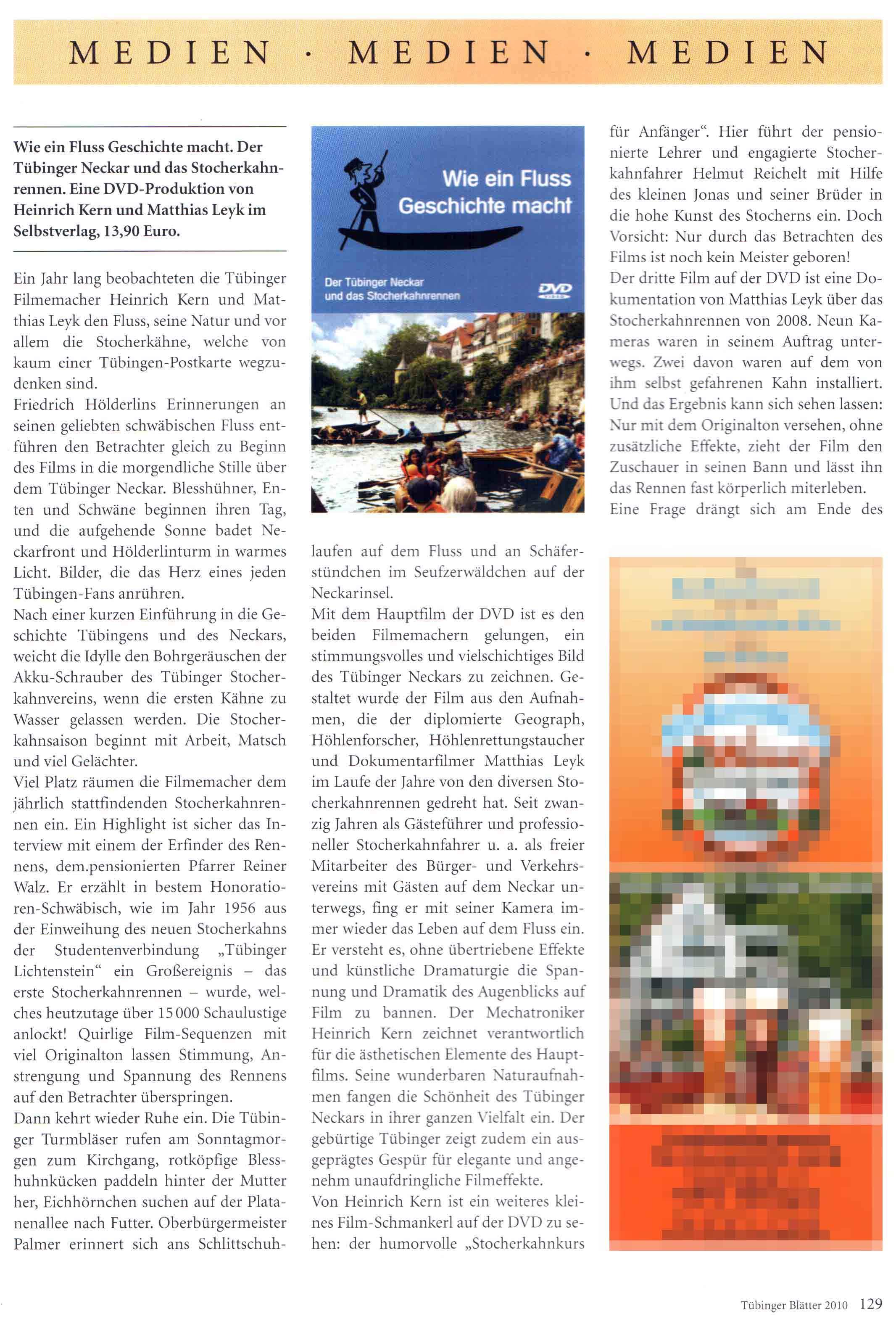 Presse Tuebinger Blätter 1