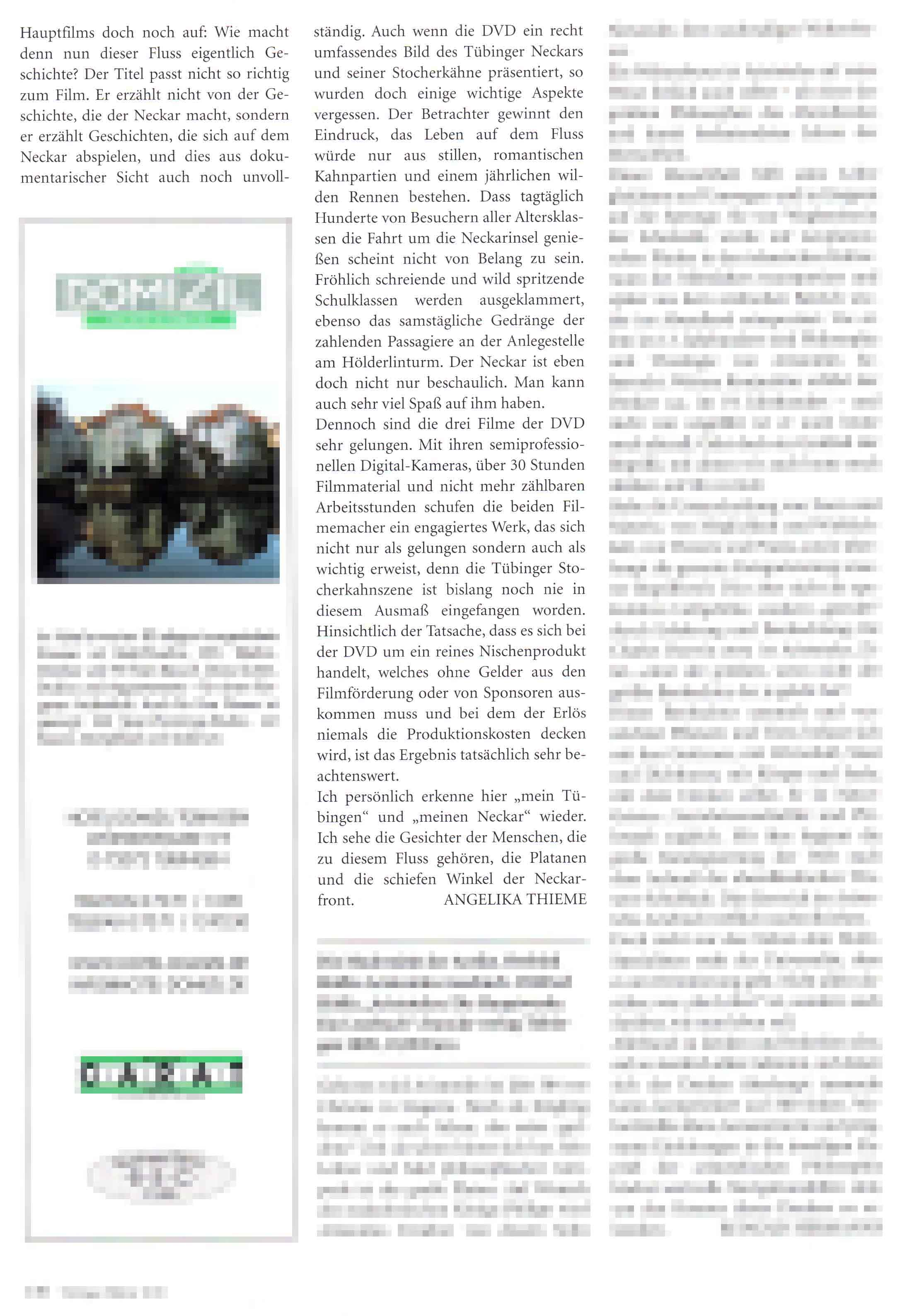 Presse Tuebinger Blätter 2